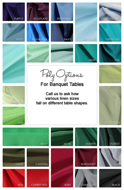 Poly Linens for parties